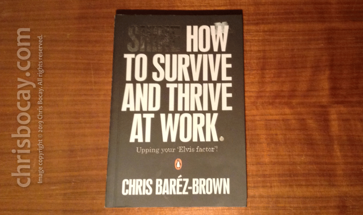 How to survive and thrive at work, by chris barez-brown (Penguin Books)