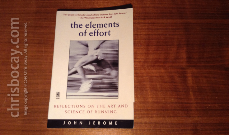 The Elements of Effort, by John Jerome