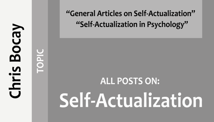 all posts on self-actualization (topic)